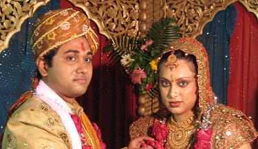 Sushmit and Pooja got Wed
