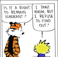 Being Ignorant !